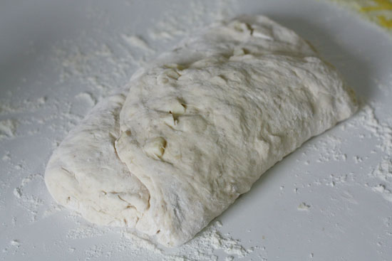 dough shaped