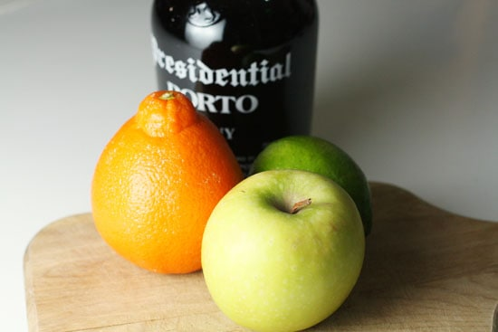 fruit and port