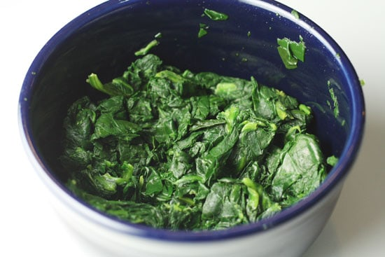 Spinach ready