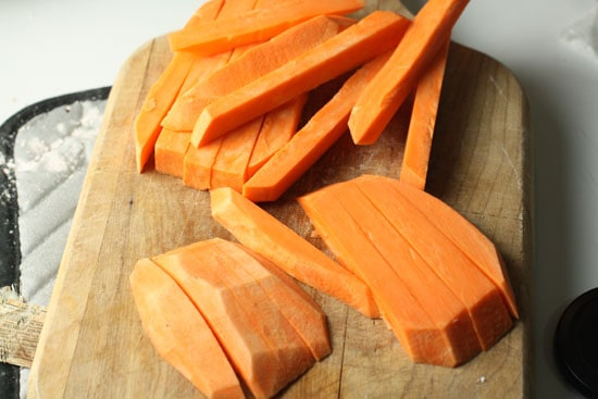 Sweet Potato spears