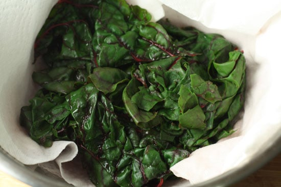 blanched chard