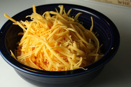 Cheese grated