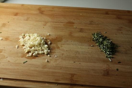 chopped rosemary