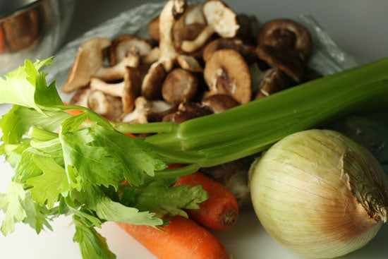 veggies for stew
