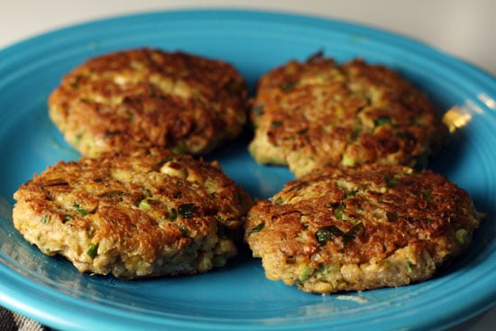 fried chickpea patties