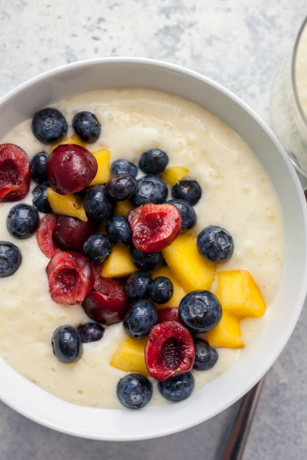 Fruit Tapioca Pudding