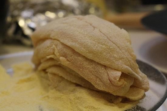 catfish floured