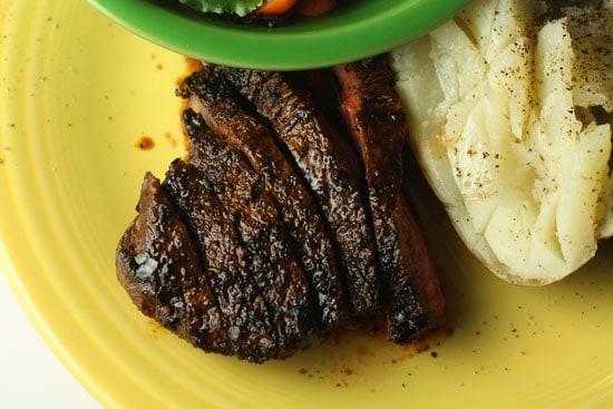 Spicy steak