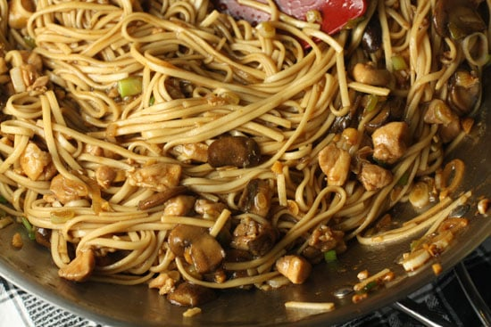 lo mein done