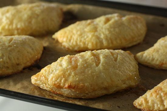 golden brown pies