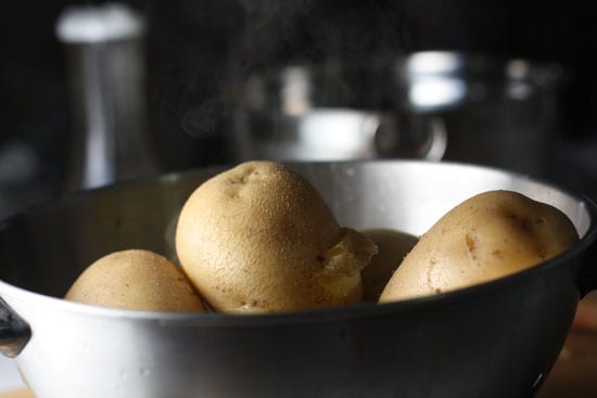 potatoes cooked