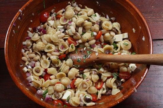 white bean pasta