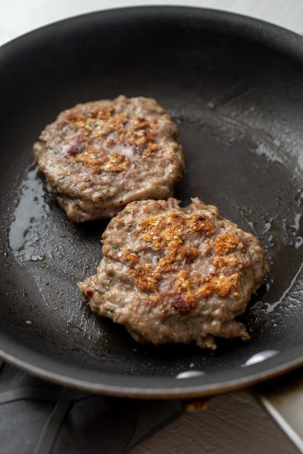 Cooking Homemade Breakfast Sausage