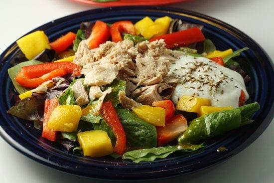 mango tuna salad