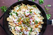 Weeknight BBQ Chicken Nachos