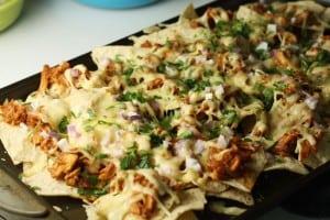 bbq chicken nachos