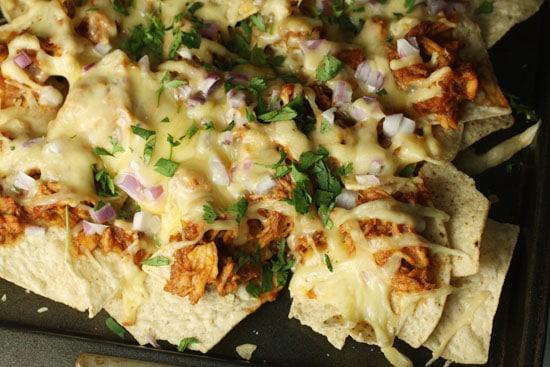 finished nachos