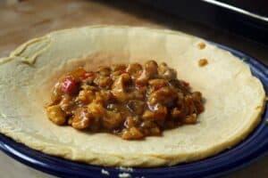 savory curry pancakes