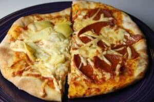 frozen personal pizzas