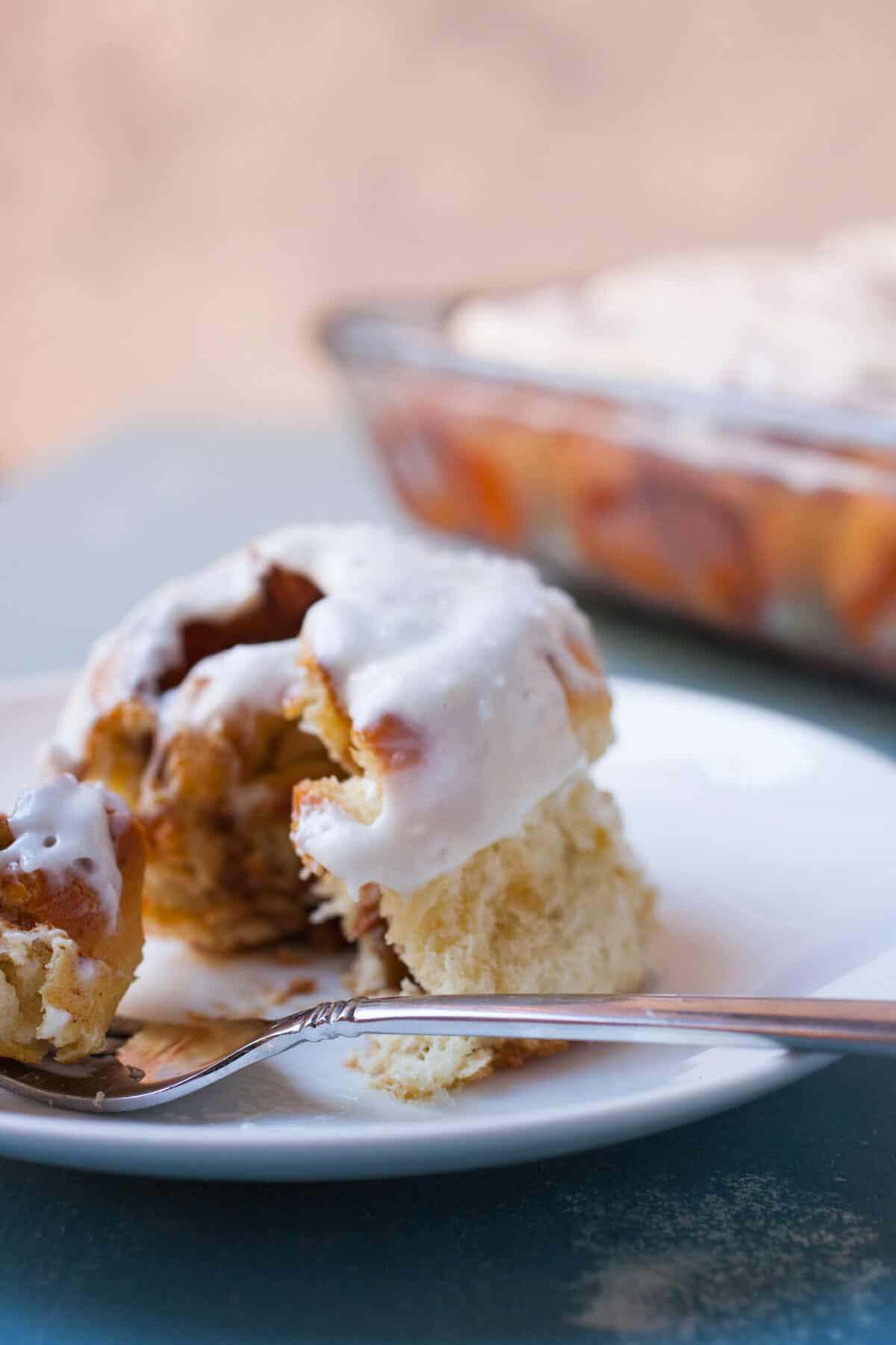 Overnight Cinnamon Rolls: These are one of my favorite slow food breakfasts. Sure, they take time to make, but the results are one of the best cinnamon rolls you'll eat. Enjoy. | macheesmo.com