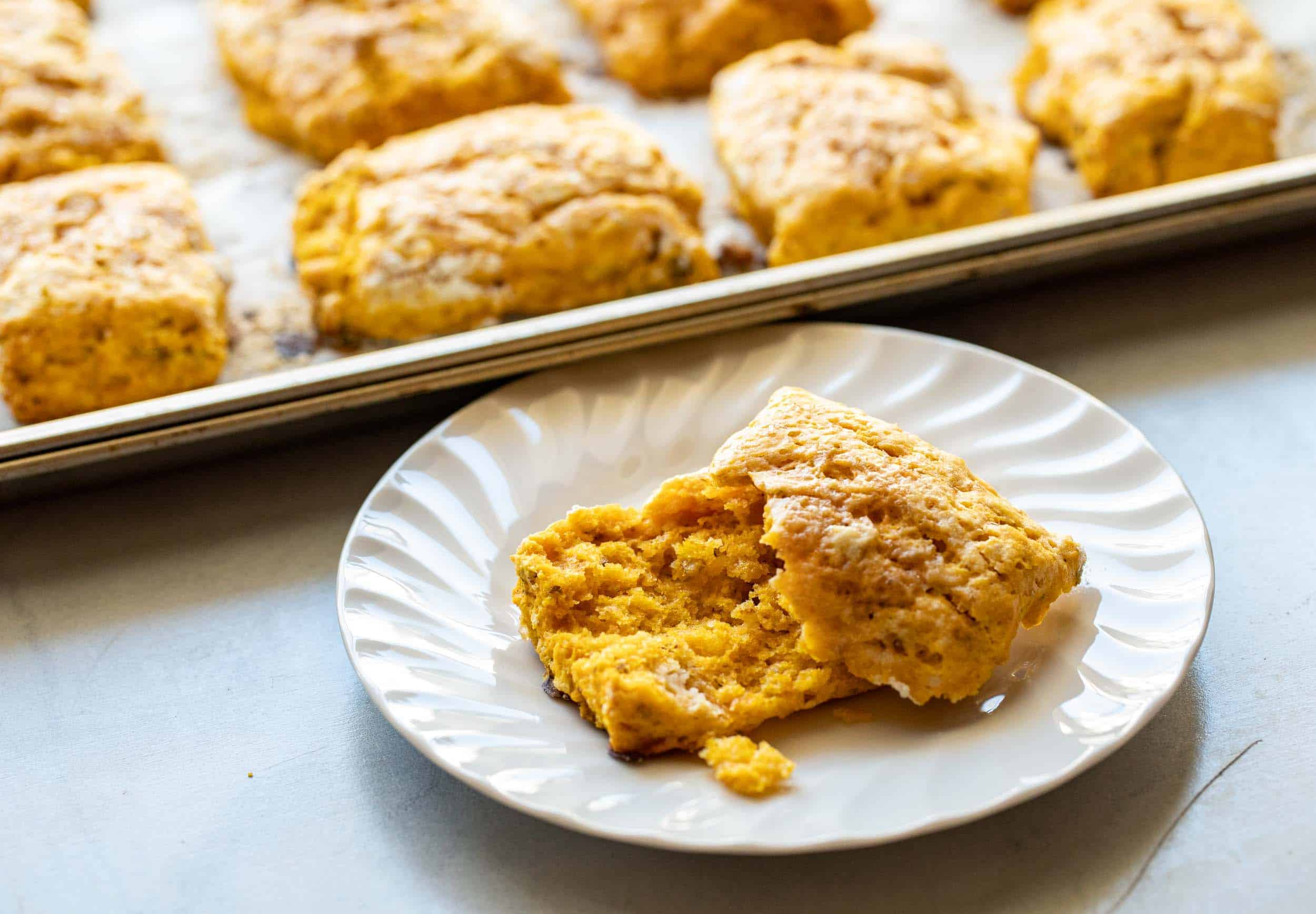 Pumpkin Biscuits with Pecans