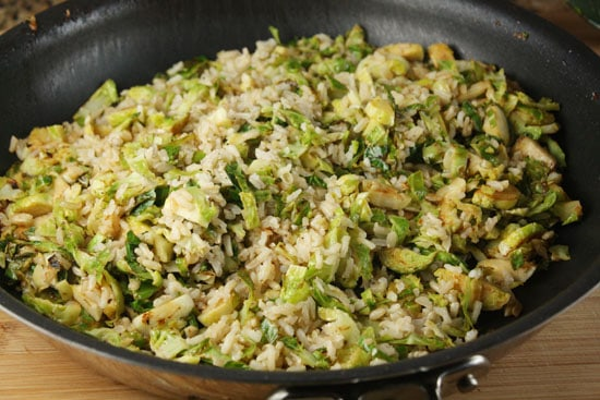 sprouts and rice