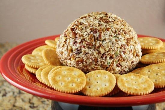 Quick And Delicious Cheese Ball Recipe Macheesmo