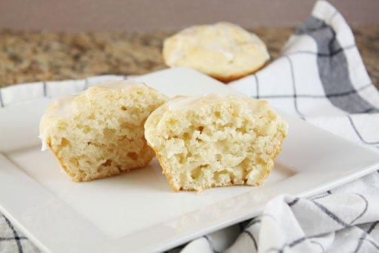 honey yogurt muffins