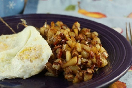 sweet apple hash