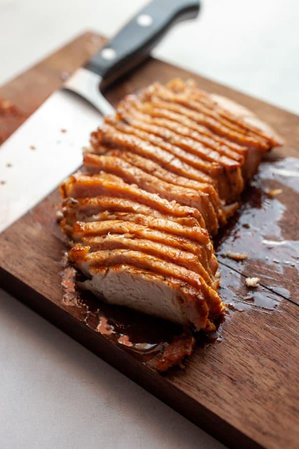 Sliced Pork Chop - Pork Spring Rolls