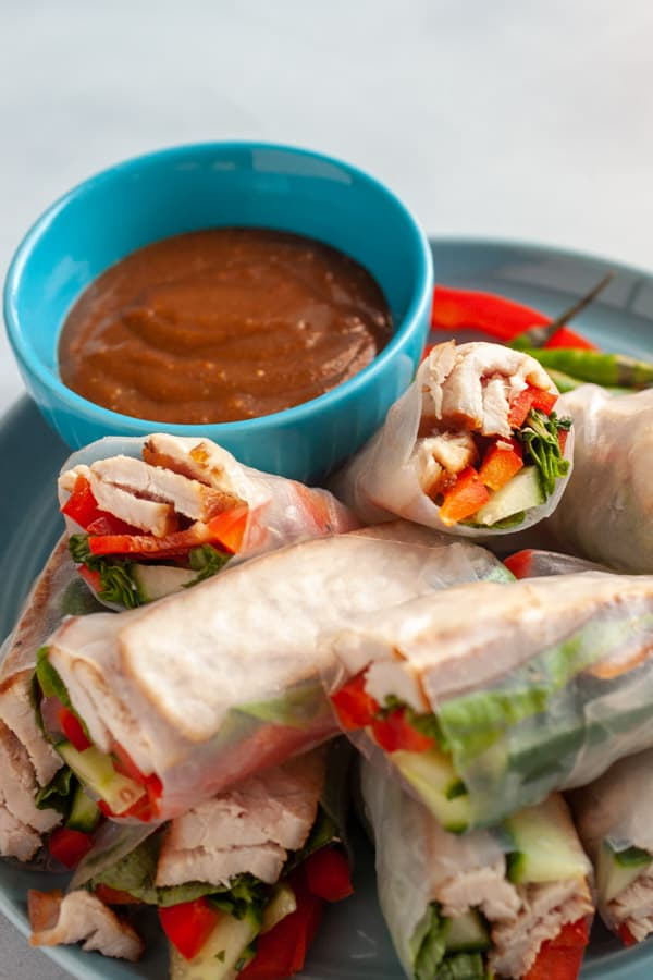 How to Make Pork Spring Rolls