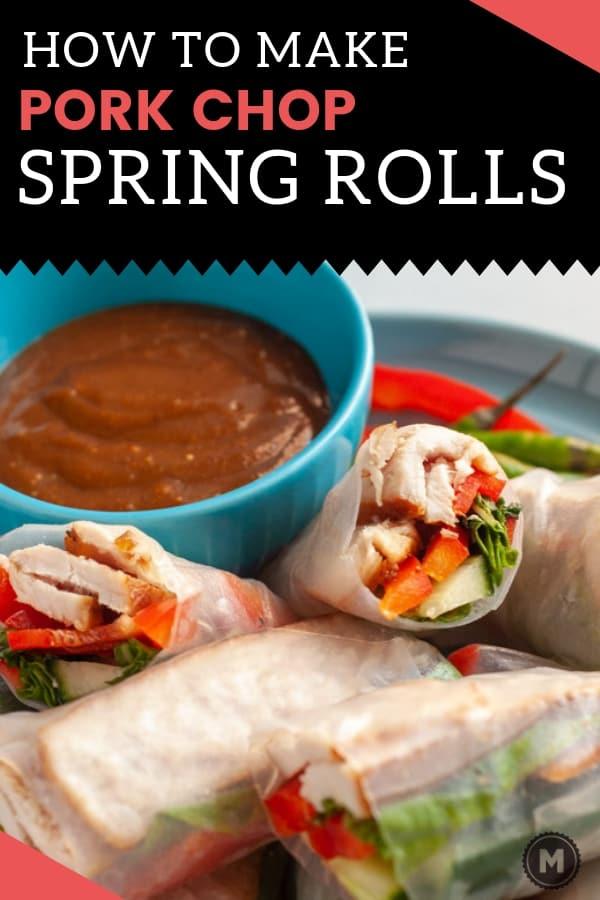 How to Make Pork Spring Rolls