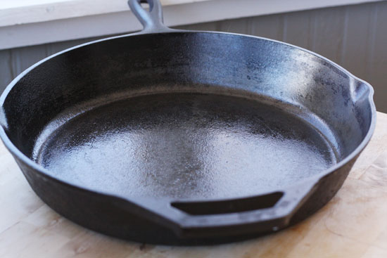 Brand new cast iron skillet