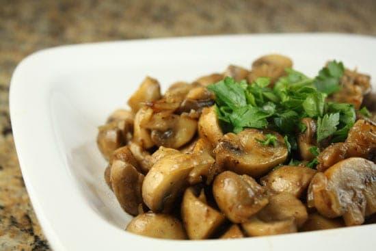 Image of Brandied Mushrooms, Macheesmo