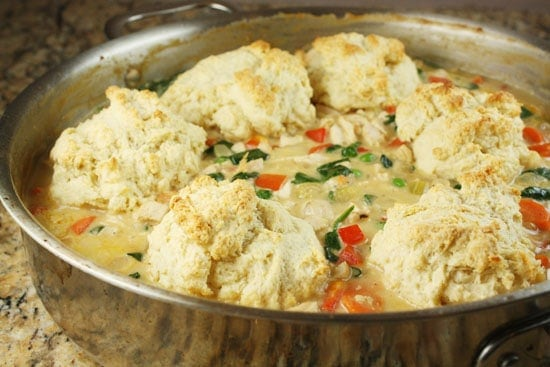 Image of Chicken Skillet Pie, Macheesmo