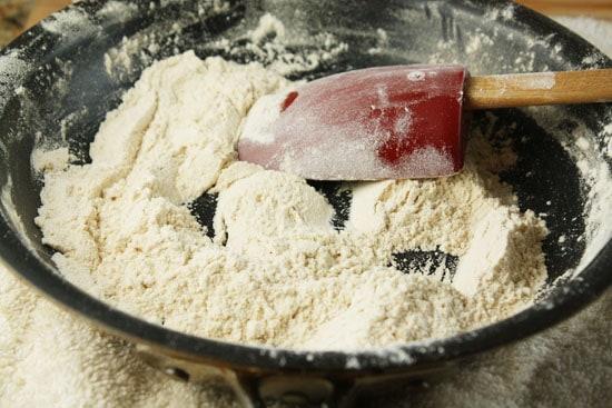 dry flour