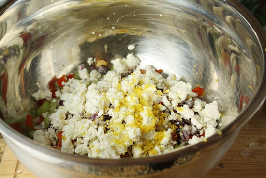 feta and zest