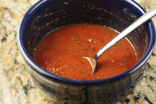 sauce for pizza