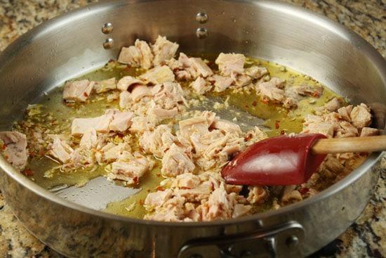 tuna cooking