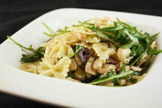 pasta salad up close