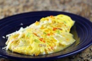 confetti omelet