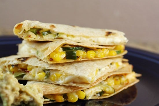 corn quesadilla
