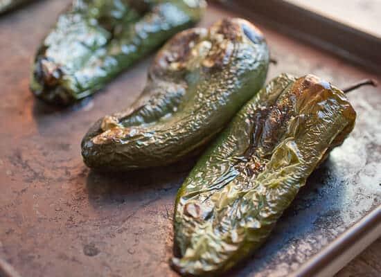 Chile Relleno Burritos poblanos