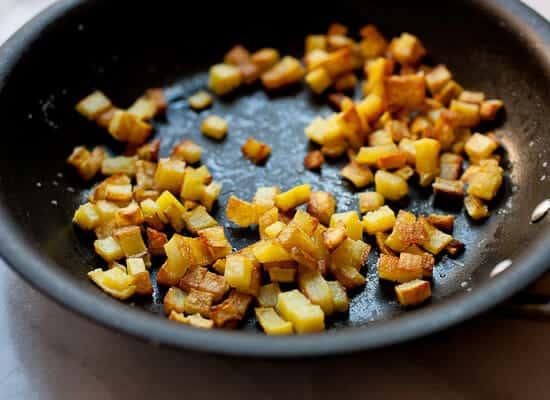 Chile Relleno Burritos potatoes