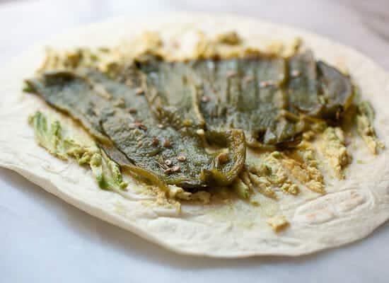 Chile Relleno Burritos cado