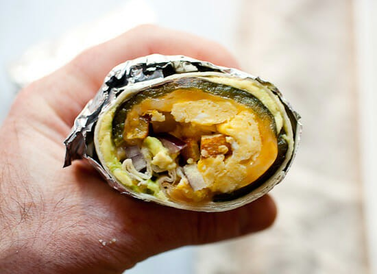 Chile Relleno Burritos