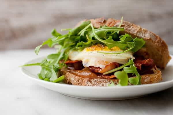 Apple Butter Breakfast Sandwich