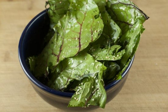 chard chips