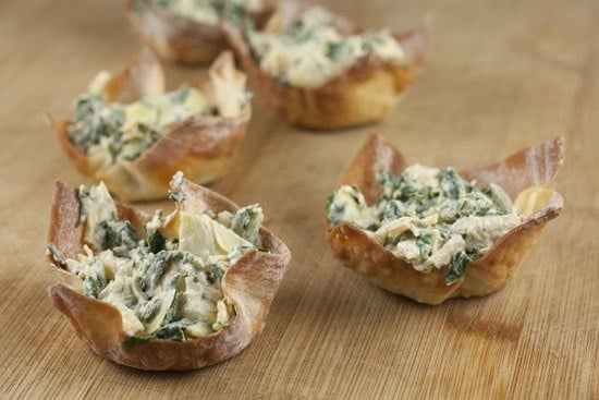 Image of Spinach Artichoke Cups, Macheesmo