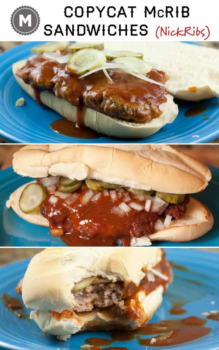 No need to wait for McDonalds to randomly release this sandwich. Just make the McRib at home! It's better that way anyway.